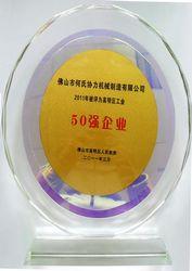 شركة من أفضل 50 شركة الصناعة في منطقة قاومينغ