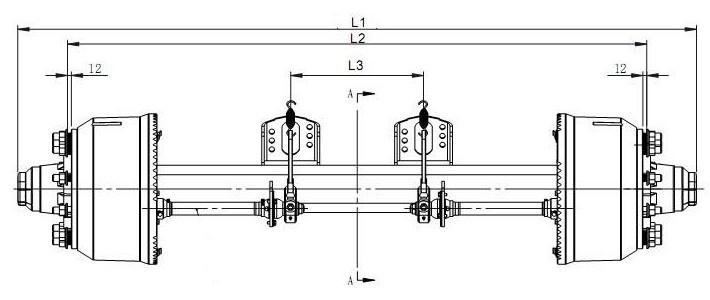 Схема немецкой тип оси