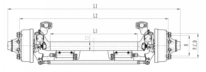 Steering axles schematics