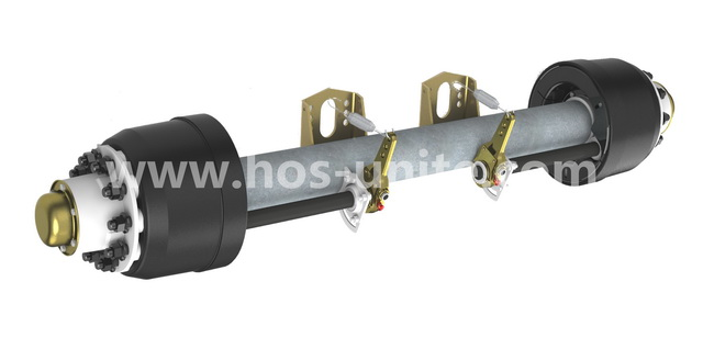 China axle,trailer axle,China bogie,China suspension,axle manufacturer